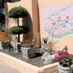 26 driveway topiary & plants-H900